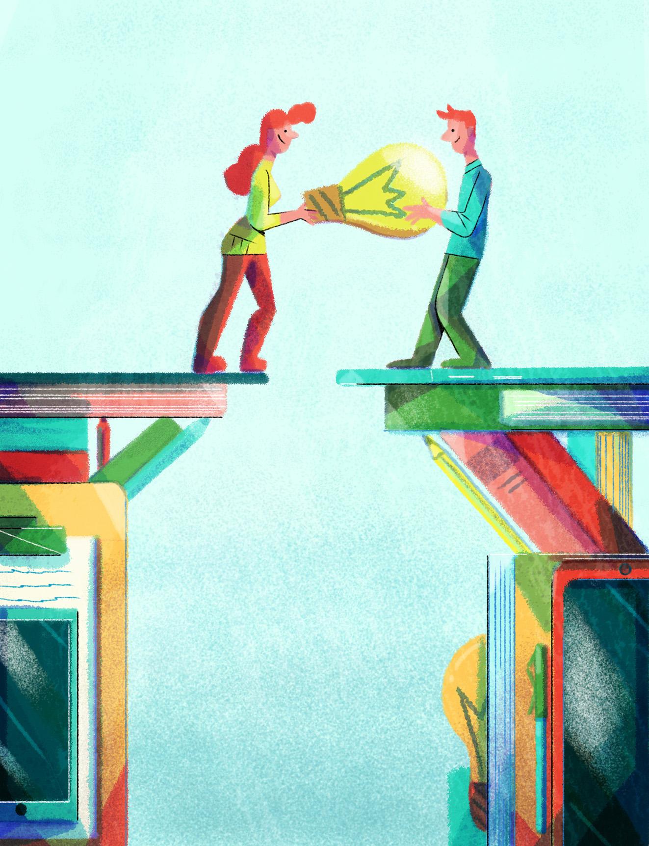 definitive ideas Jesús Escudero Illustration