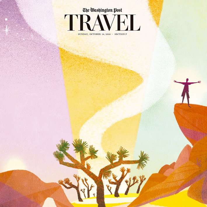 The Washington Post Travel Cover
